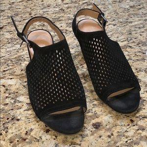 Franco Sarto black heels sz 10
